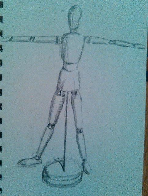 The Vitruvian Mannequin
