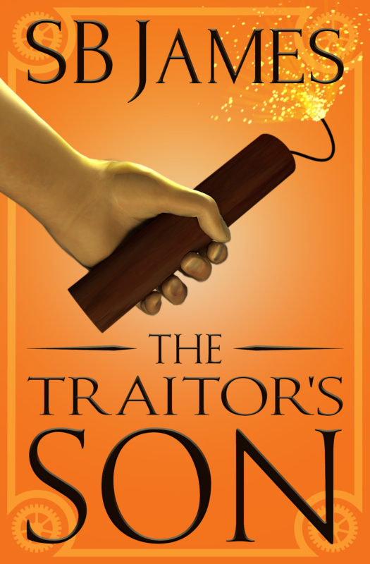 The Big Cover Reveal For The Traitor's Son!